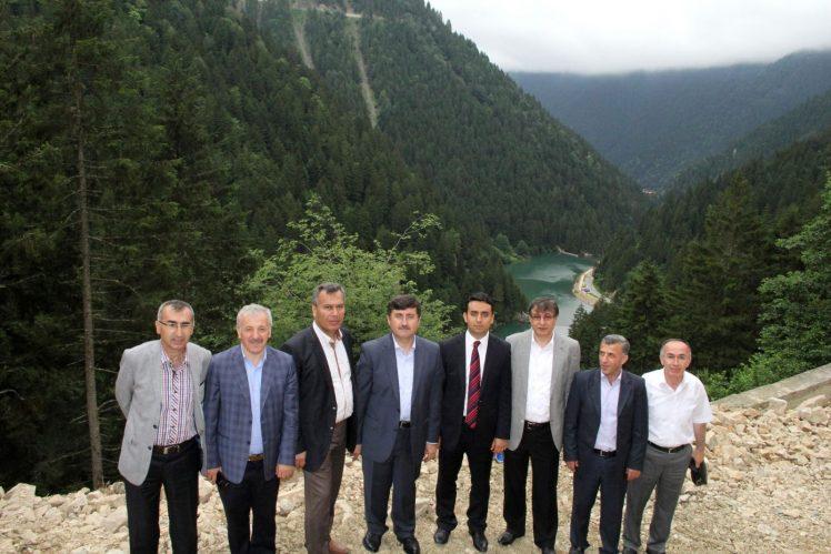 Trabzon Valisi Uzungöl'de İncelemelerde Bulundu