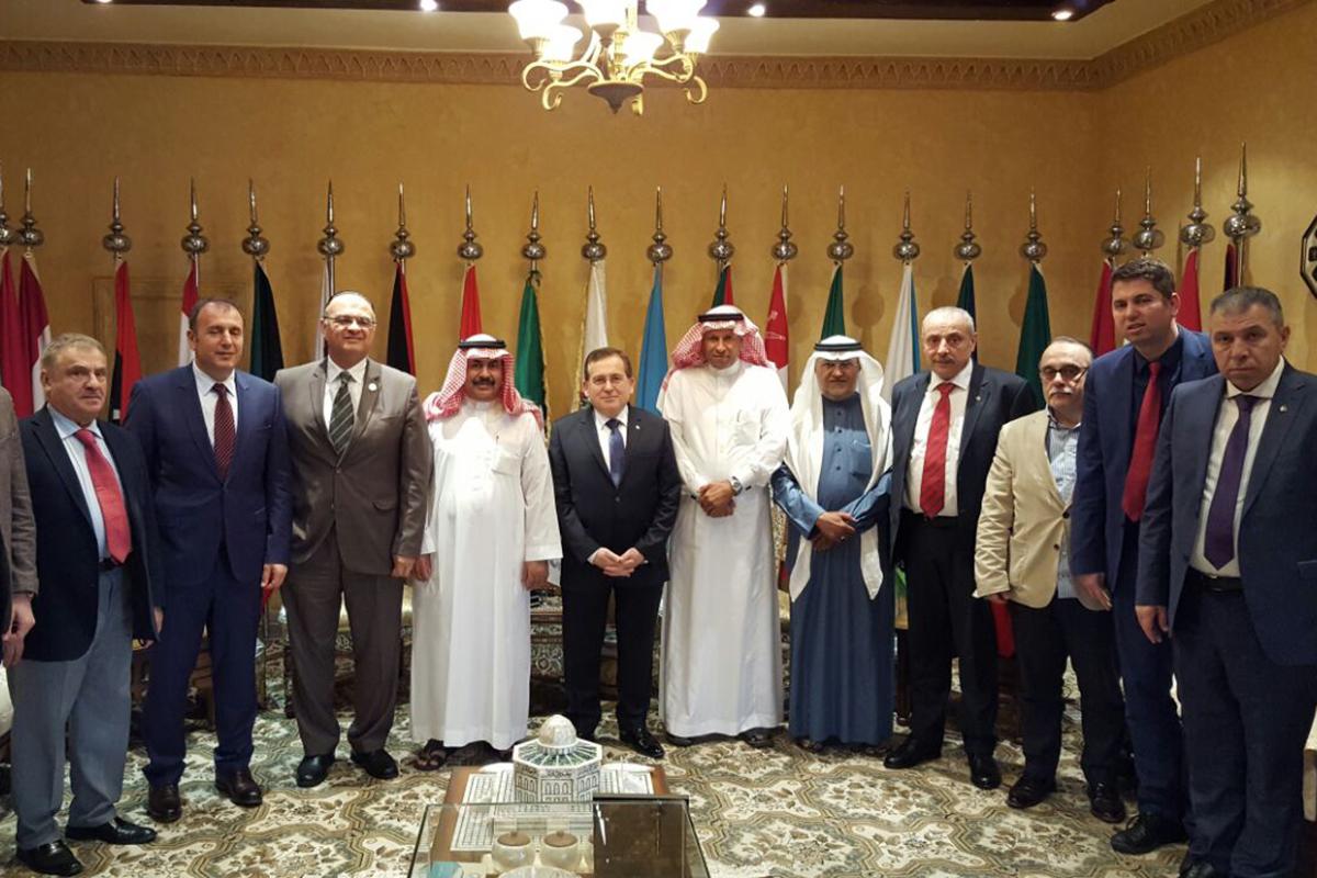 Arap Büyükelçilerin Trabzon Ziyareti